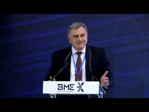 Antonio Zoido Y Javier Hernani Presentan El Plan Estratégico De BME