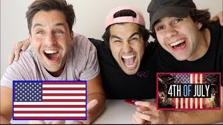 INSANE 4TH OF JULY TRIVIA WITH PUNISHMENTS (PAINFUL) FT DAVID DOBRIK, TODDY SMITH, SCOTTY SIRE Video