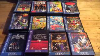 [Ma Collection en Live N°24] Special collection : SEGA MEGADRIVE PART 3/3
