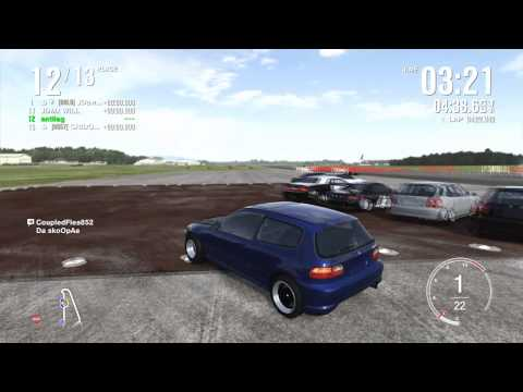 Forza 4 - modded civic E class online