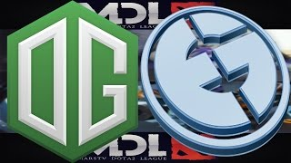 eg vs og 1   mdl 2016 group stage dota 2   full games highlights