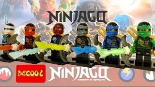 Китайское Лего Ниндзяго Decool Минифигурки Fake LEGO Ninjago