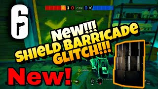 Rainbow 6 Siege - New! Deployable Shield Barricade Glitch!!!