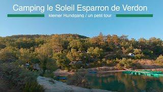 Camping le Soleil Esparron de Verdon - ein kleiner Rundgang
