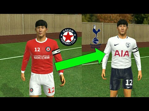 buy online aa48d f5d42 HOW TO IMPORT TOTTENHAM 2018 KITS AND LOGO (DREAM LEAGUE SOCCER 18)