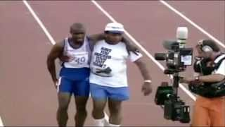 """""""Perseverance' Derek Redmond - When you don't give up, you cannot fail!"""