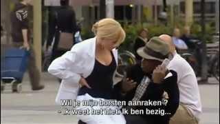 Boob / Breast Grabbing Prank in Public (...