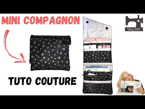 mini compagnon tuto couture diy youtube. Black Bedroom Furniture Sets. Home Design Ideas