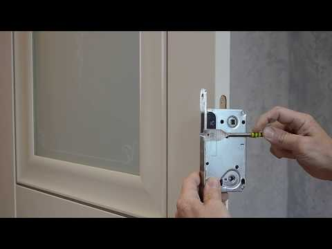 Врезка замка. Installation Of A Door Lock For An Amateur.