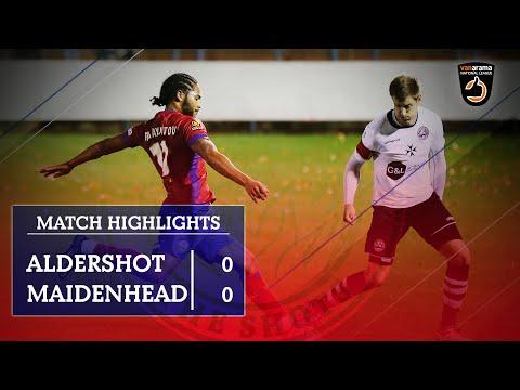 Aldershot Maidenhead Goals And Highlights