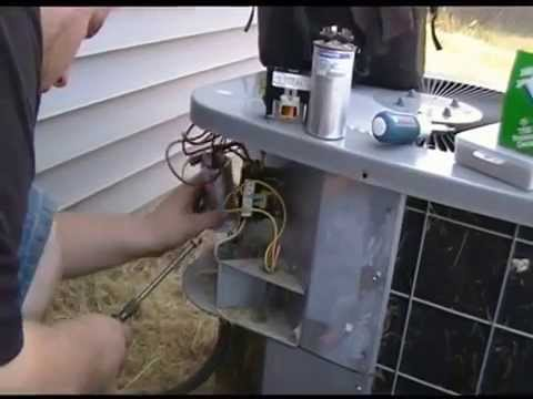 Capacitor How To Fix Your Ac Capacitor And Contactor