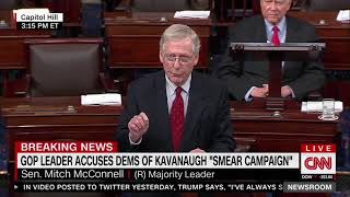 McConnell: Kavanaugh Will Receive a Vote in the Senate
