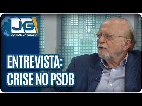 Maria Lydia entrevista Alberto Goldman, vice-pres. nacional do PSDB, sobre a crise no partido