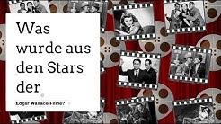 Was wurde aus den Stars der Edgar Wallace Filme?