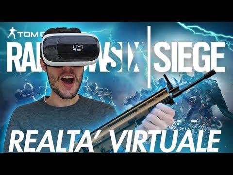 RAINBOW SIX SIEGE in REALTA' VIRTUALE | Rainbow Six Siege VR