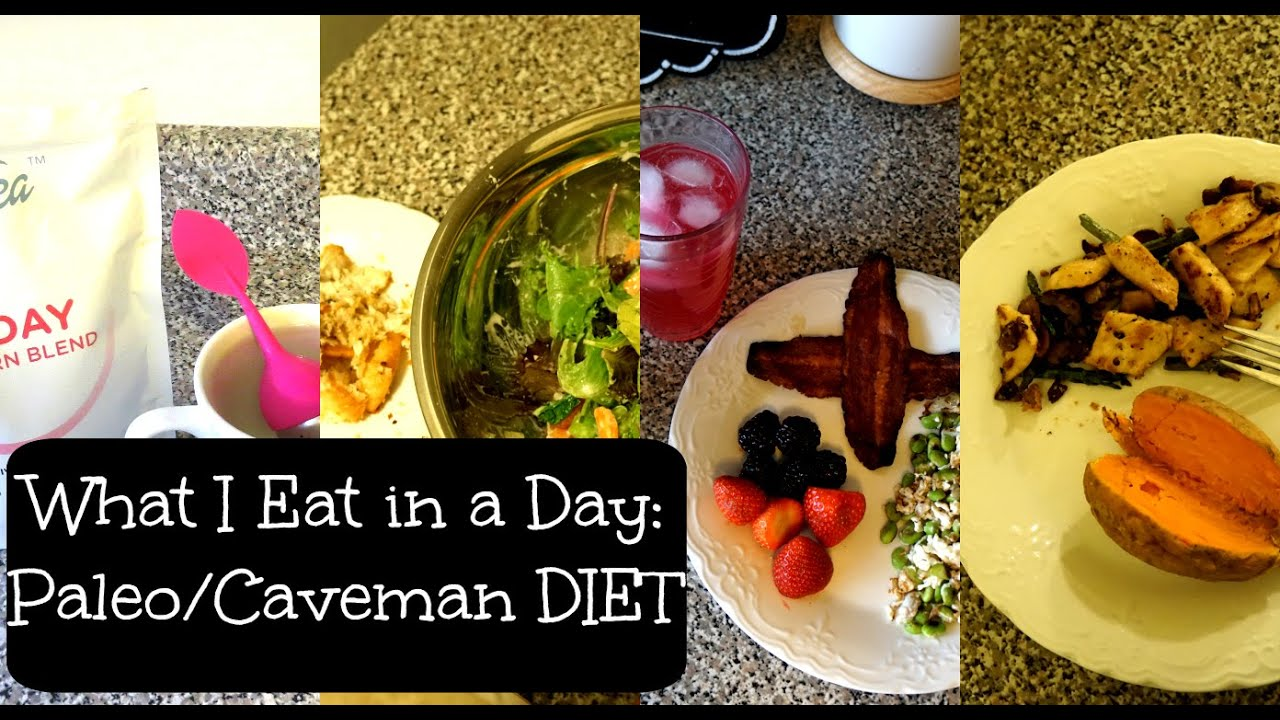 Caveman Diet Ideas : What i eat in a day paleo caveman diet youtube