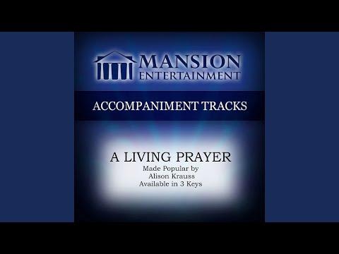 A Living Prayer (Medium KeyD Without Background Vocals)