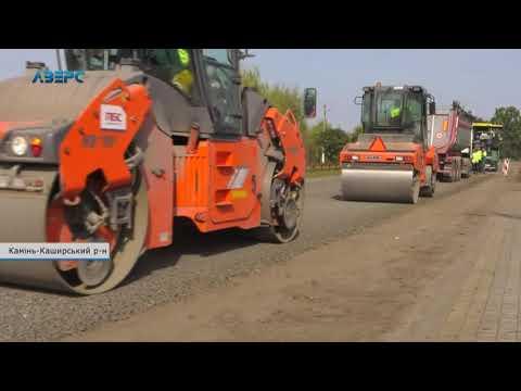 ТРК Аверс: За європейською  технологією: на Камінь-Каширщині ремонтують дорогу