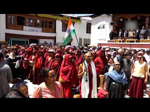 Buddhist Association organises 'thanksgiving' to celebrate Ladakh's UT status