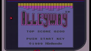 Game Boy World Direct Footage #001: Alleyway