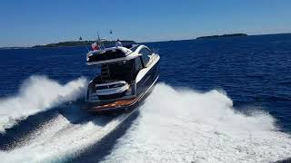 Galeon 510 SKYDECK sea trials