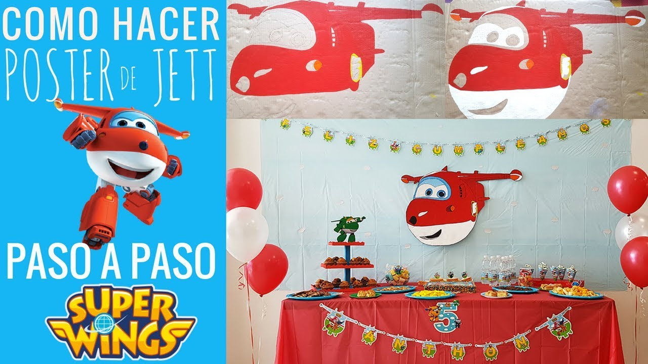 Ideas para decorar cumplea os de los super wings poster - Ideas de cumpleanos ...