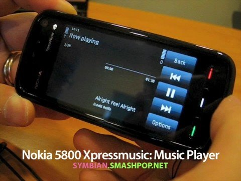 Nokia 5800 XpressMusic: Music Player