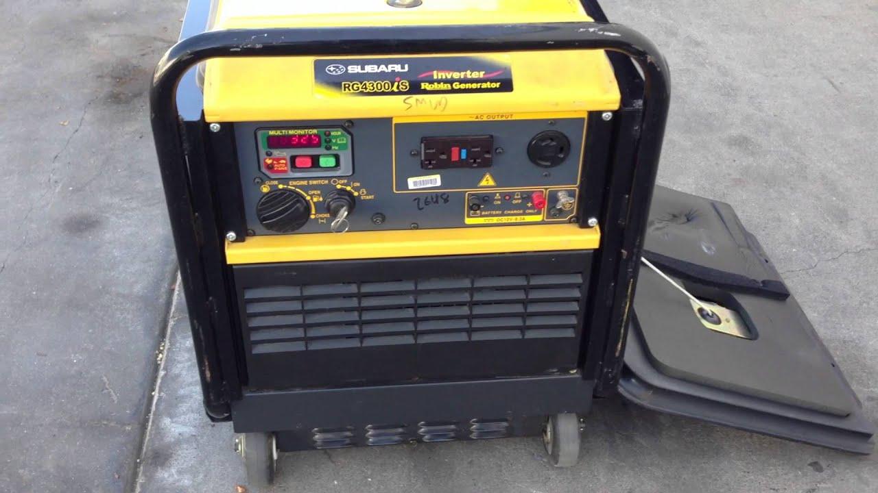 2006 RG4300iS Silent Inverter Generator for sale