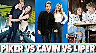 Piper and Walker Vs Gavin And Coco Vs Piper Rockelle and Lev | PIKER VS CAVIN VS LIPER *CUTE*💖😍