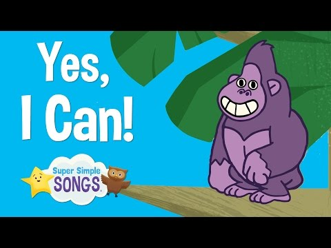 Yes, I Can!   Animal Song For Children   Super Simple Songs
