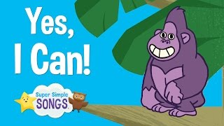 Yes, I Can! | Animal Song For Children | Super Simple Songs thumbnail