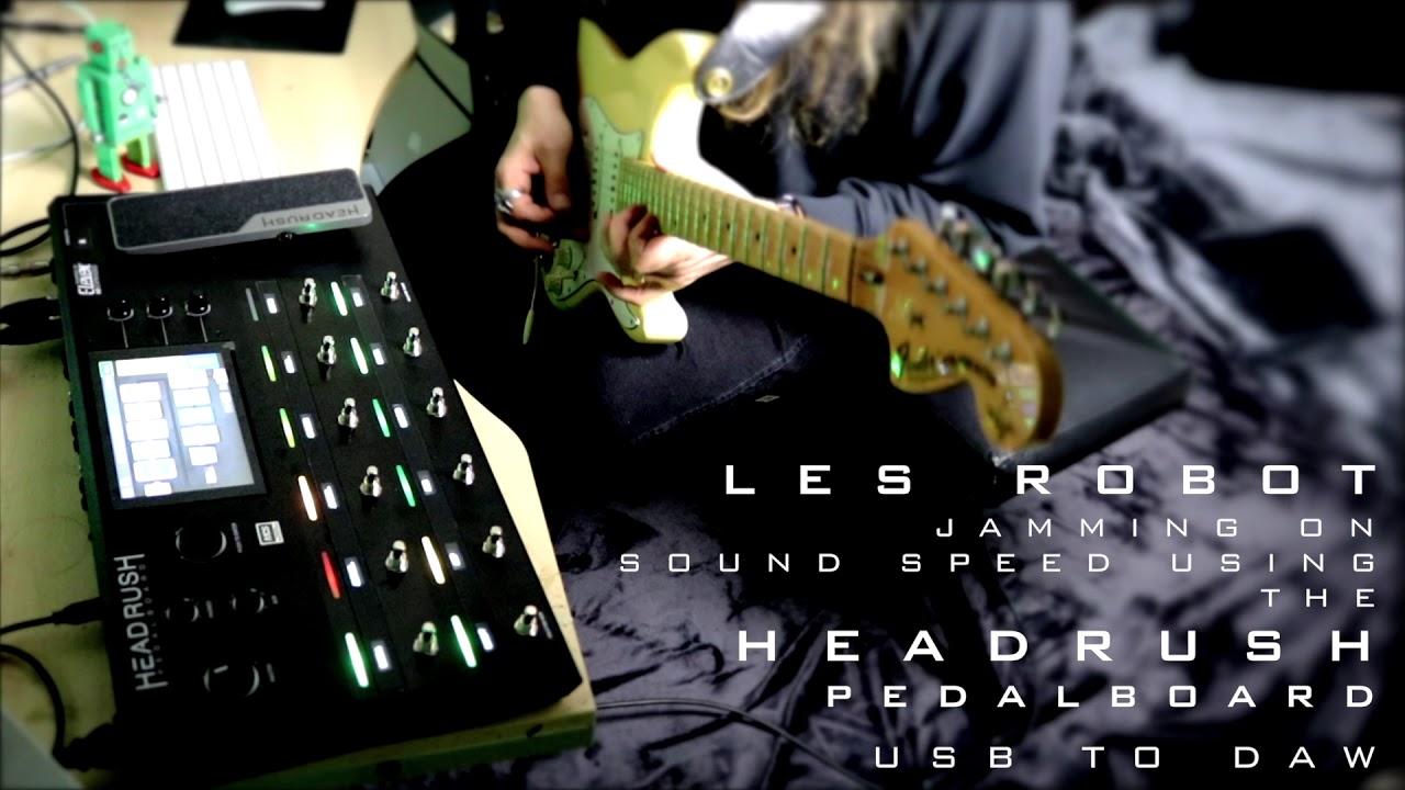HeadRush PedalBoard - 'Sound Speed' live - Tone Test