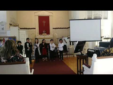 Alabanza a Dios. Coro de Niños del Greater Boston Academy