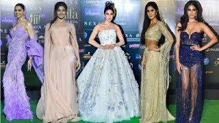 Bollywood Actresses At IFFA Awards 2019  Katrina Alia Sara Deepika amp Others