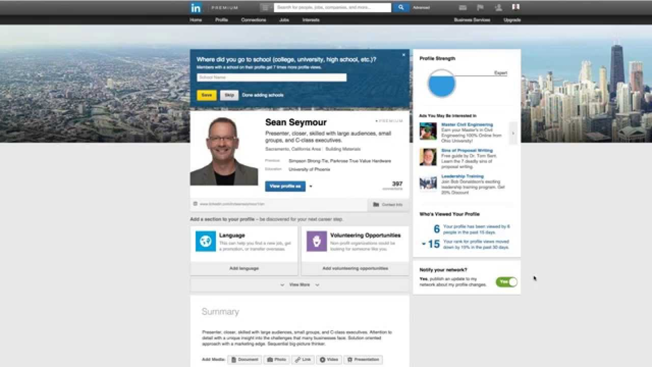 Ask for Recommendations on LinkedIn - YouTube
