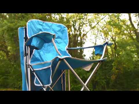Quik Shade Adjustable Canopy Folding Camp Chair Forest Green Camping Chairs Sports O
