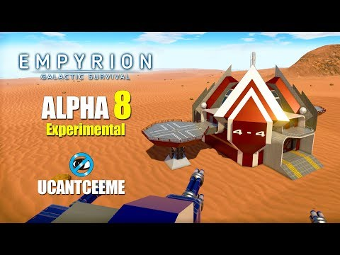 THE DESERT IS JACKED UP | The NEW OMICRON | Empyrion Galactic Survival | Alpha 8 Exp | Ep. 29