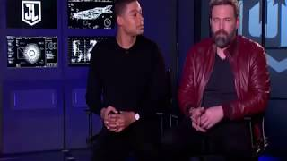 Rajeev Masand interview with Ben Affleck & Ray Fisher