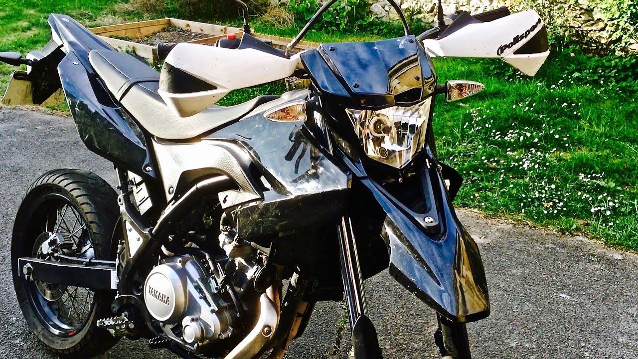 Ju0027AI UNE NOUVELLE MOTO!   YAMAHA WR125X SUPERMOTARD🔥🔥