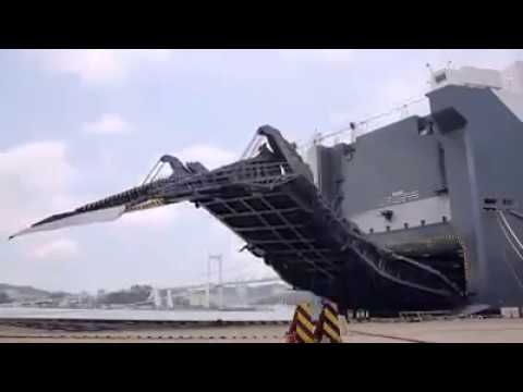 The biggest car carrier vessel