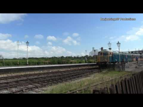 Midland Railway Centre ~ Summer Diesel Gala Part 1