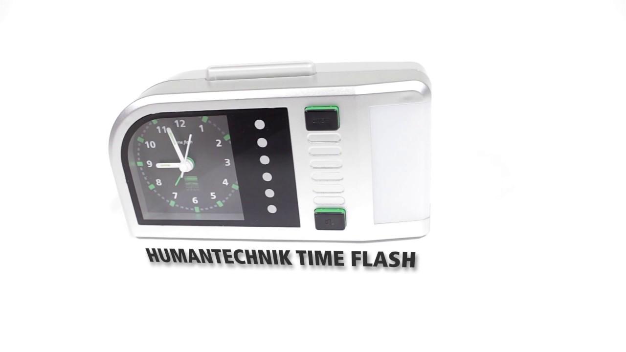video Humantechnik Time Flash – Lichtwecker