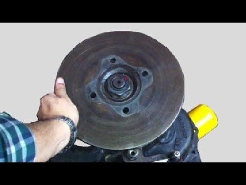How Parking Brake Disc Locks Transmission