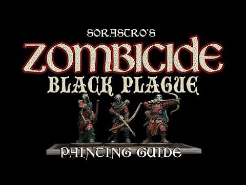 Sorastro's Zombicide: Black Plague Painting Guide Ep.6: Deadeye Walkers