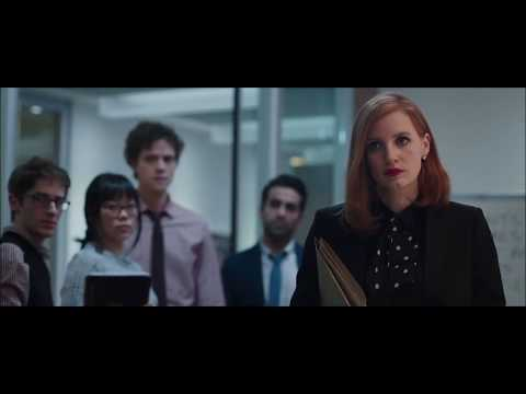 Miss Sloane: Leaves firm in style.