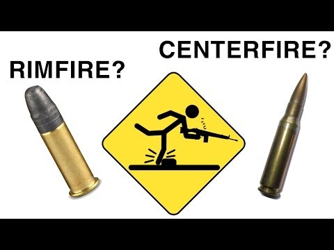 Centerfire vs Rimfire ammunition - Gunning for Dummies 5