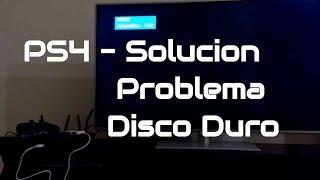 Como reparar el disco duro de tu PS4 - , arreglar problema en disco ps4 CE-33566-3 CE-34878-0