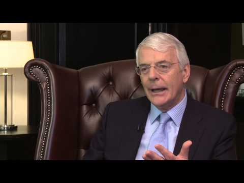 Sir John Major - Ex UK Prime Minister Interview by RMR
