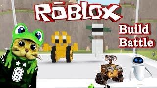 Build 2 build a robot Battle Roblox Wall E.