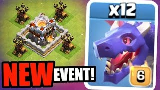 Clash of clans - its official!! Cheapest dragons in history!! - new event in coc 2017!